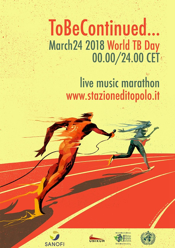 ToBe Continued...  24 hour live streaming concert for the World TB Day