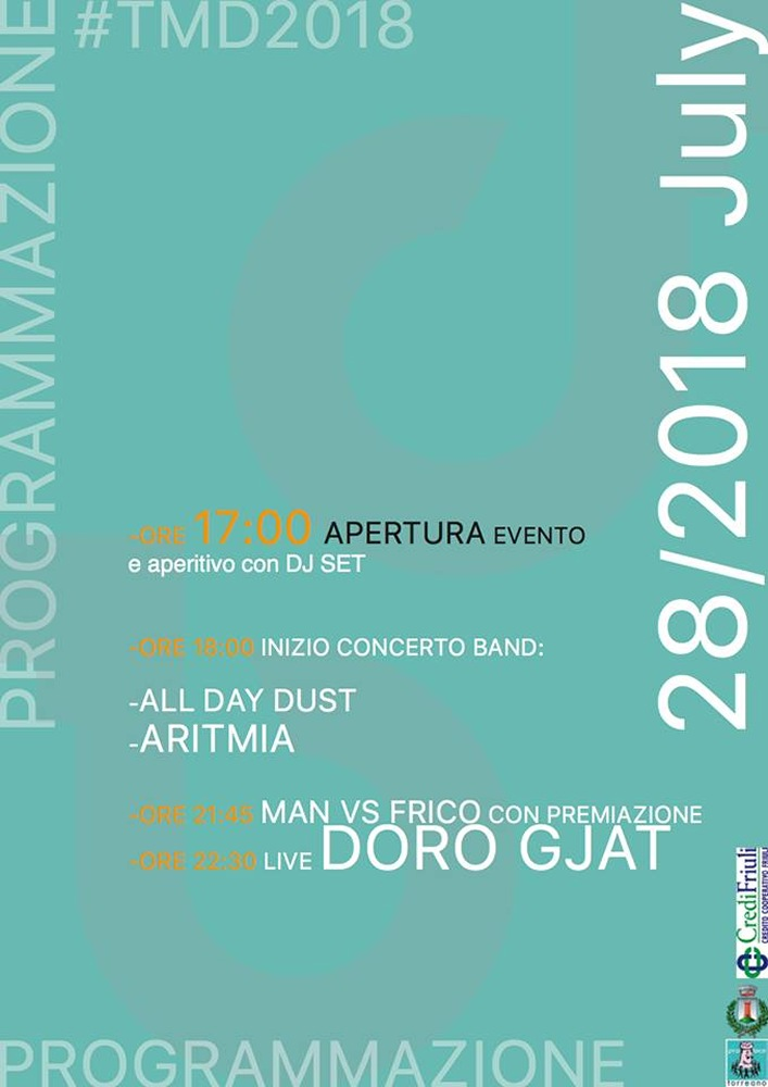 Torreano Music Day 2018  Special guest: Doro Gjat